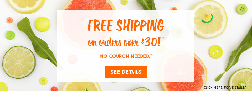 Free Shipping $30+