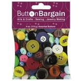 Assorted 4 oz Bag of Buttons