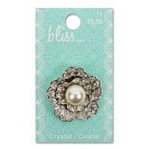 Crystal and Pearl Flower