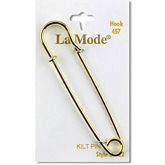 "Gold Kilt Pin 3"" (76MM)"