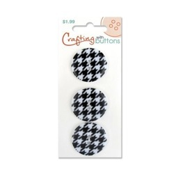 Pattern Small - Black Houndstooth