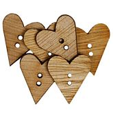Wood Simple Hearts