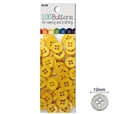 100 Buttons Yellow