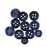 Navy Shirt Buttons Mix