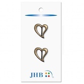 "Heart Buckle Gold 3/4"" (19MM)"