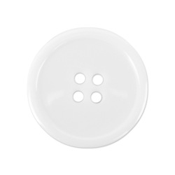White Sewing Buttons