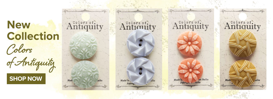 Colors of Antiquity - Craft buttons; Buy buttons