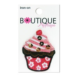 Cupcake w/Sequins