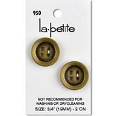 "Antique Gold  3/4"" (19MM)"