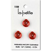 "Ladybugs 1/2"" (12MM)"