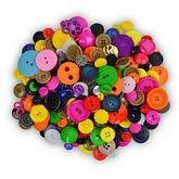 Buttons By The Pound -10 lbs of Buttons -  1 Packages