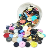 Tub of Buttons