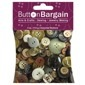 Natural 4 oz Bag of Buttons