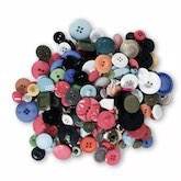 Mixed Buttons - Variety 10 oz.