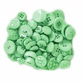 Assorted Buttons Mint 3 oz.