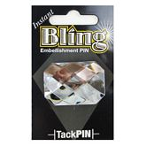 Bling Large Clear Rectangle