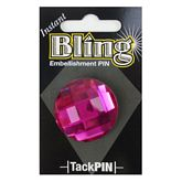 Bling Small Pink Round
