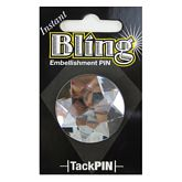 Bling Large Clear Round