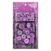 Buttons & Beads Lavender