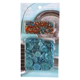Buttons & Beads Turquoise