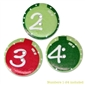 Advent Ornament Buttons