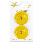 "Yellow Concave 1 1/8"" (28MM)"