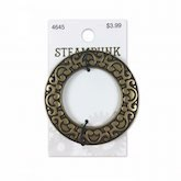 Steampunk Buckle O Ring