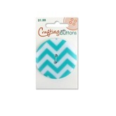 Pattern Large - Aqua Chevron