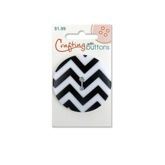 Pattern Large - Black Chevron
