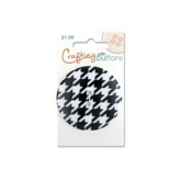 Pattern Large - Black Houndstooth