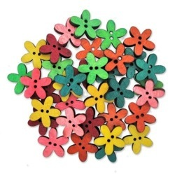 Wood Flowers Multi