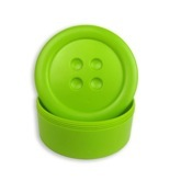 Button Box Lime Green SM