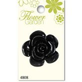 Black Shiny Rose