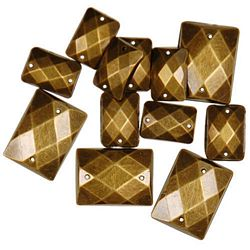 Gems Gold Rectangles