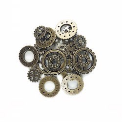 Steampunk Gears - Antique Gold