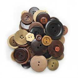 Wood Buttons Assorted Sizes