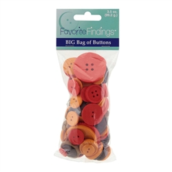 Value Pack - Autumn - 3 Packages of 3.5 oz. Buttons
