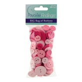 Value Pack - Pinks - 3 Packages of 3.5 oz. Buttons