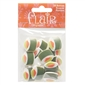 "California Roll 1"" (25MM) - 3 Packages of 18 Buttons"