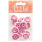 "Donuts 1"" (25MM) - 3 Packages of 18 Buttons"