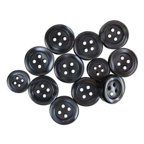 Grey Shirt Buttons Mix 570003005 - Blumenthal Lansing buttons