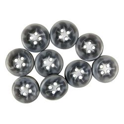 Grey Shirt Buttons