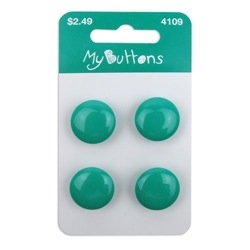 My Teal Buttons