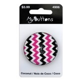 Pink & Black Chevron