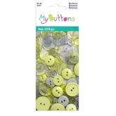 My Buttons Value Pack Gray/Yellow
