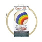 Embroidery Hoop Kit Rainbow