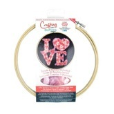 Embroidery Hoop Kit Love
