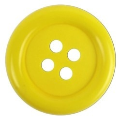 Large Kids Button Yellow 2 1 2 Quot 770012836100331