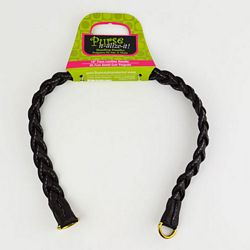 Braided Faux Leather Handle