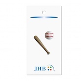"Baseball & Bat  1 3/4"" (44MM)"